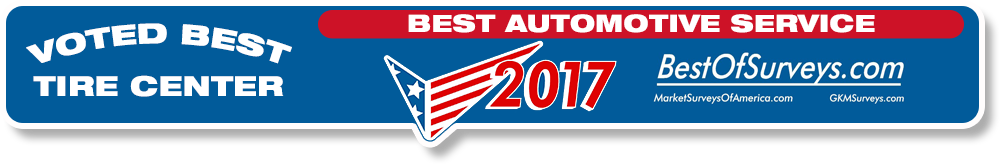 Voted Best Automotive Service and Tire Center
